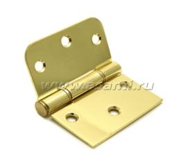 Петля универсальная 65x36xR16x11x40x2mm BP (золото)