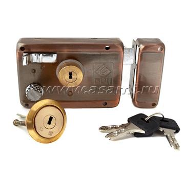 Замок накладной 5581  компьютерный ключ
