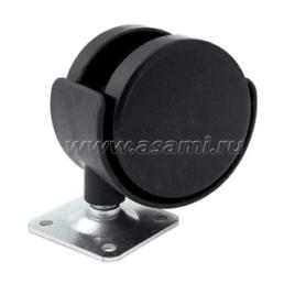 Колесн. опора меб пласт 50 мм M-9907 TWP