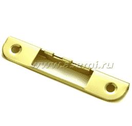 Запорные планки для врезного замка угловая 0068 (золото)
