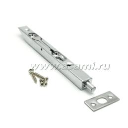Шпингалет торцевой LX-200 CP сталь (хром)