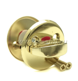Завертка 0360 BP (золото) 55мм, зол.ручка