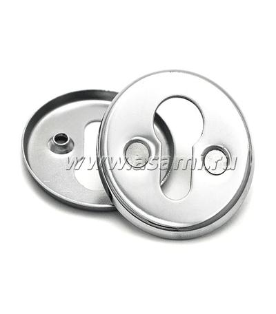 Ключевина 016 PZ CP (хром) 55мм