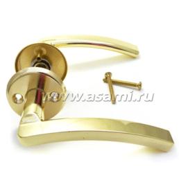 Ручка дверная 16/102 BP (золото)