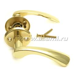 Ручка дверная 16/115 BP (золото)