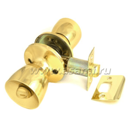 Ручки-защелки 590 BK РВ золото