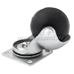 Колесн.опора шаров.резин 50 мм M-9906 BP