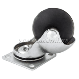 Колесн.опоры шаров.резин 50 мм M-9906 BP
