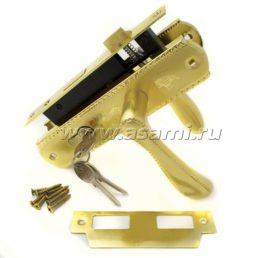 Ручка-замок 5801 YN/GP золото