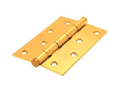 Петли 100*70*2,5 4ВВ РВ универсальные (золото)