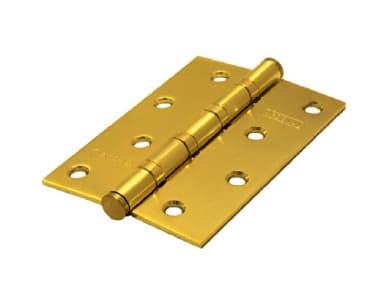 Петли 100*70*2,5 4ВВ BS универсальные (золото матовое)