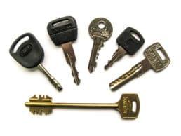 Виды ключей для замков фото