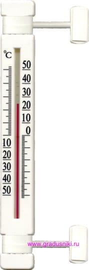 Термометр ТБ-223 (ТСН-24) д/пласт.окон