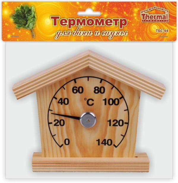 Термометр ТБС-44 д/сауны Домик