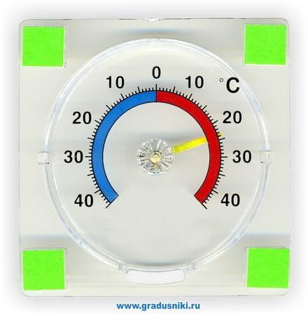 Термометры ТС-21 д/пласт.окон
