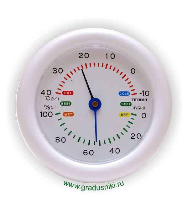 Термометр ТС-79Г комнат с гигрометром