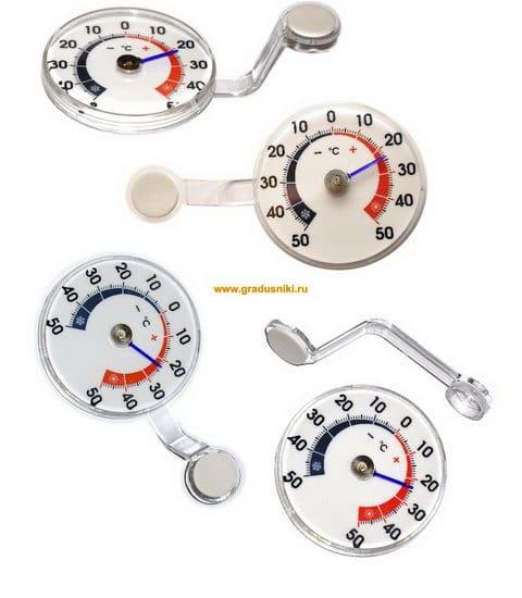 Термометры ТС-32 д/пласт.окон